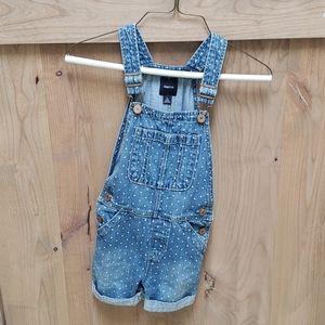 Gap Kids overalls. Girls size small.